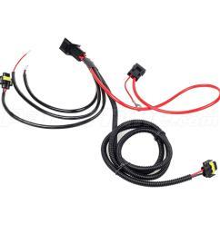 h11 880 881 headlight fog light drl relay wiring harness [ 1200 x 1200 Pixel ]