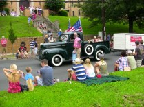 Antique Cars at 4th of July