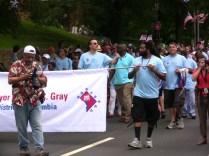 Mayor Gray at Palisades Parade
