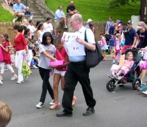 Key School Marchers Palisades Parade 2013