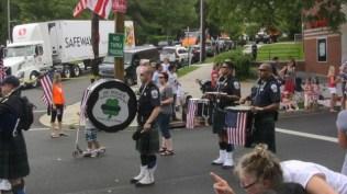 Band at July 4th Palisade Parade