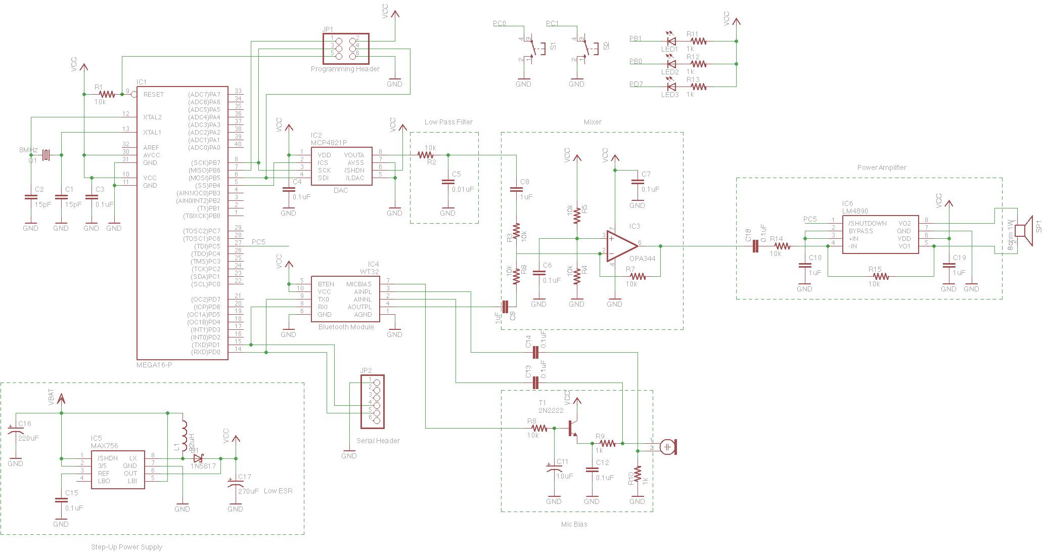 Bluetooth Module Schematic