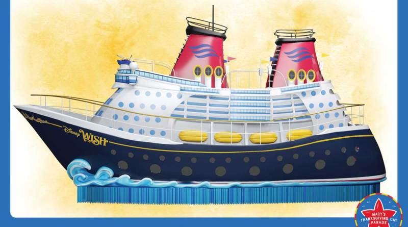 Disney Cruise Line to Debut New Float in Annual Macy's Thanksgiving Day Parade
