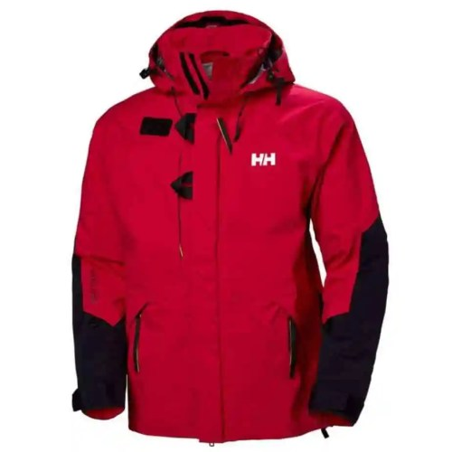 Red Helly Hansen jacket, courtesy of hellyhansen.com