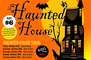 Halloween Nights! October 27th! $6 for kids, $11 for adults at the doors! CLICK HERE