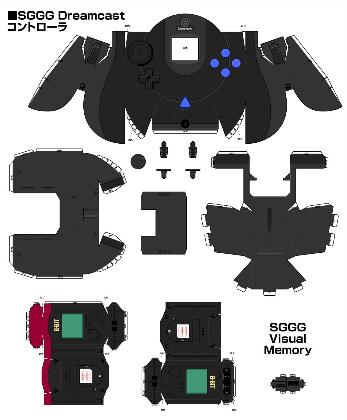 Latest SegaGaga Papercraft IGN