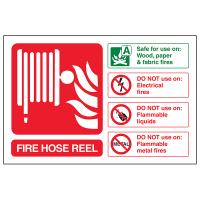 Fire Hose Reel - Landscape | Safety Signs 4 Less