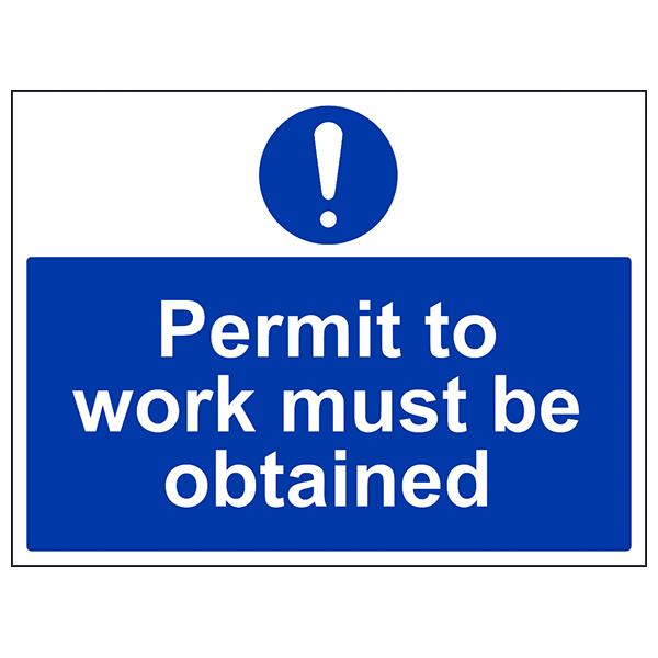 permit work obtained
