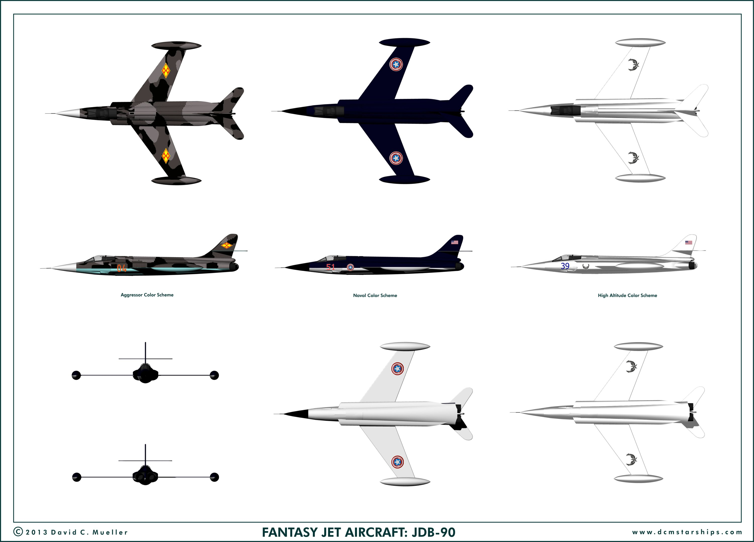 Fantasy Jet Planes Projects