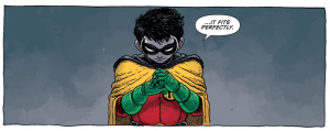 SECRET ORIGINS #4 - Damian Wayne becomes Robin