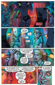 SECRET ORIGINS #4 - Harley Quinn meets Bernie Bash