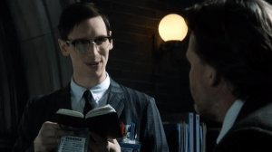 Cory Michael Smith as Edward Nigma aka the Riddler