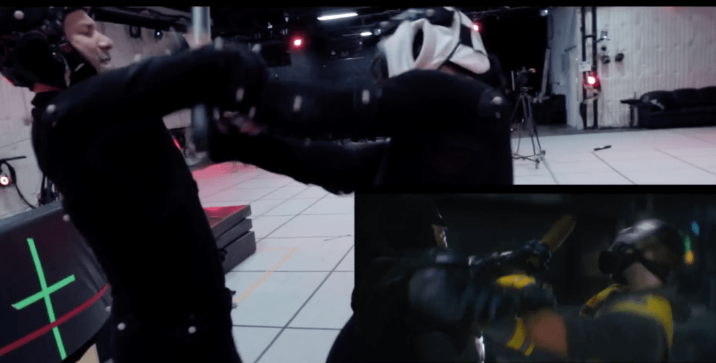 Arkham Knight Stunt Work