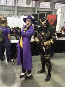 The Joker and Talon