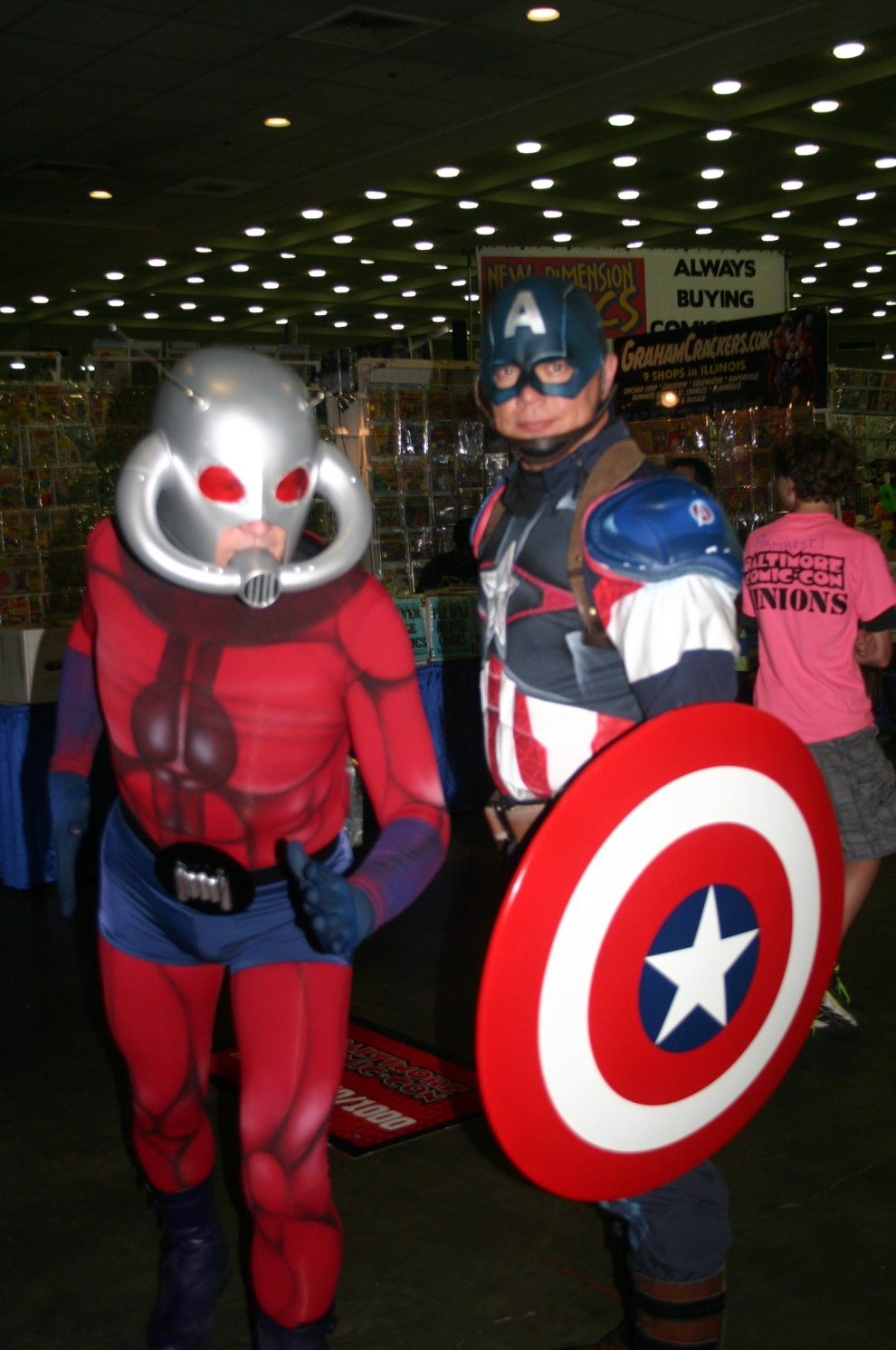 Ant Man and Captain America