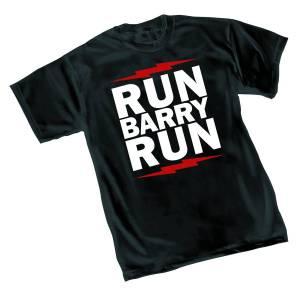 FLASH RUN BARRY RUN T/S SM $18.95