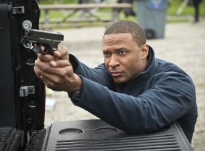 """Arrow -- """"Dark Waters"""" -- Image AR409A_0402b.jpg -- Pictured: David Ramsey as John Diggle -- Photo: Diyah Pera/ The CW -- © 2015 The CW Network, LLC. All Rights Reserved."""