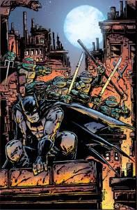BATMAN TEENAGE MUTANT NINJA TURTLES #2 (Kevin Eastman variant)