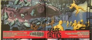Batman and Robin Eternal 14 Batmobile Crash