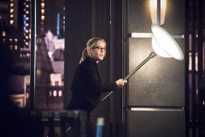 """Arrow -- """"Beacon of Hope"""" -- Image AR417b_0322b.jpg -- Pictured: Emily Bett Rickards as Felicity Smoak -- Photo: Dean Buscher/The CW -- © 2016 The CW Network, LLC. All Rights Reserved."""