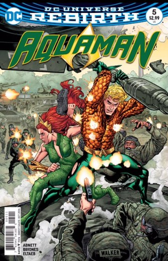 Aquaman 5 cover 2
