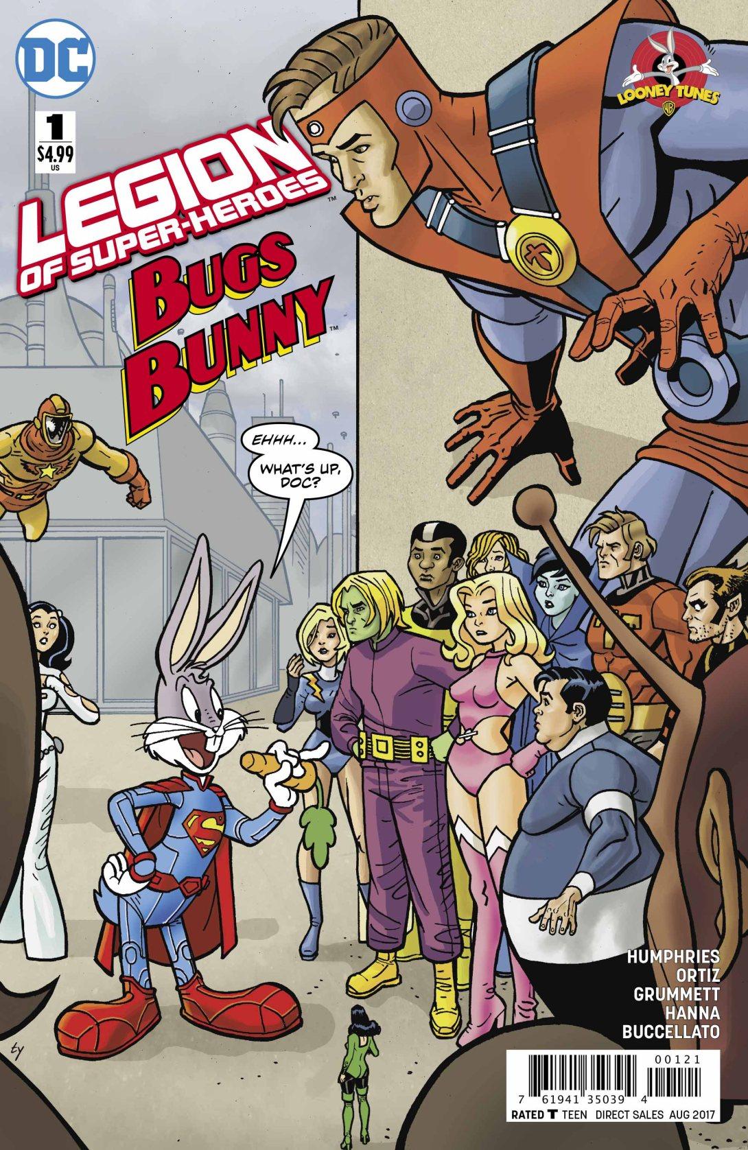 Legion of Super-heroes Bugs Bunny - DC Comics News