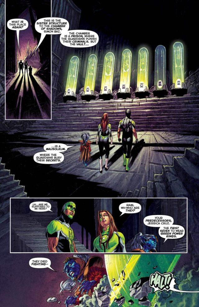 Review: Green Lanterns #25