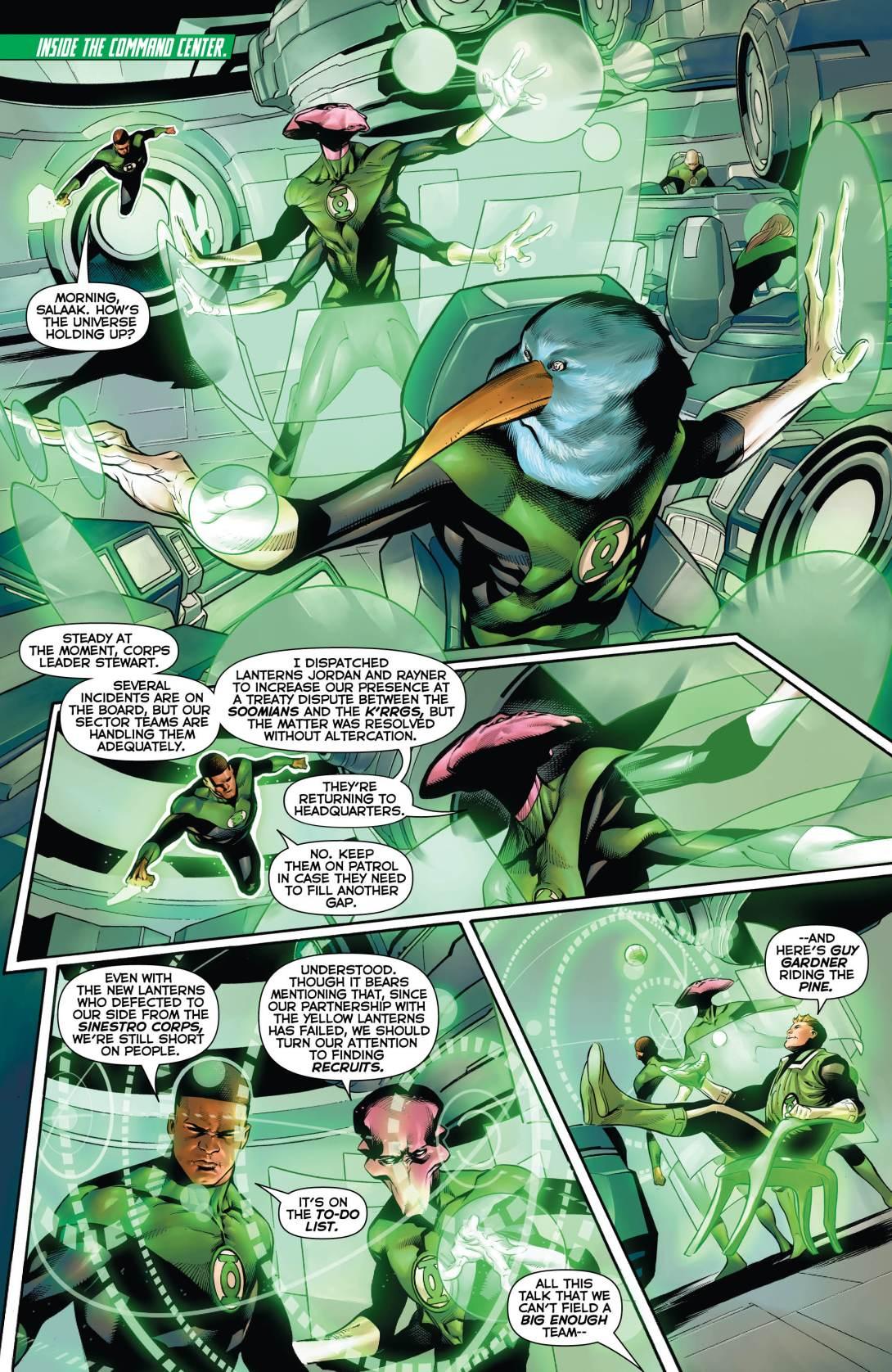 Hal GL Corps - 4 - DC Comics News