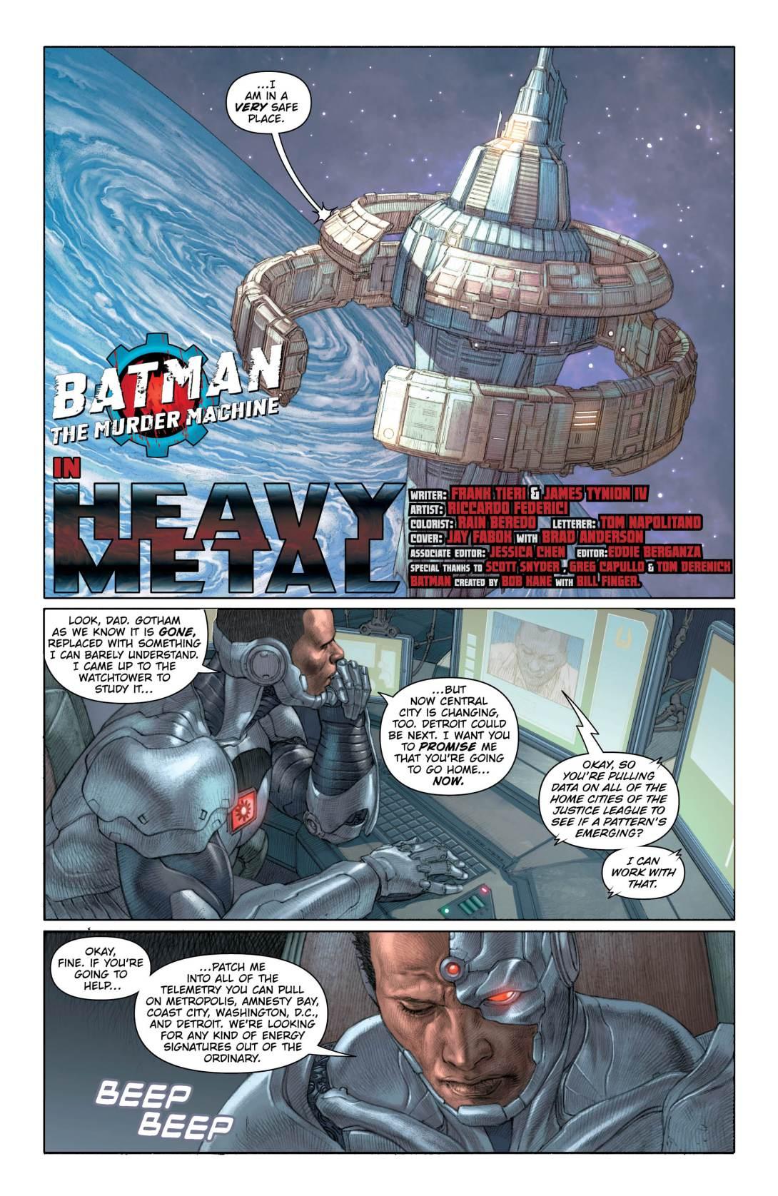 Batman Murder Machine 2 - DC Comics News