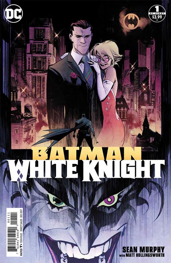 Batman White Knight Cover - DC Comics News