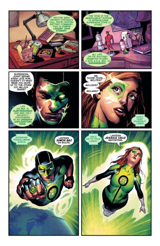 Review: Green Lanterns #33