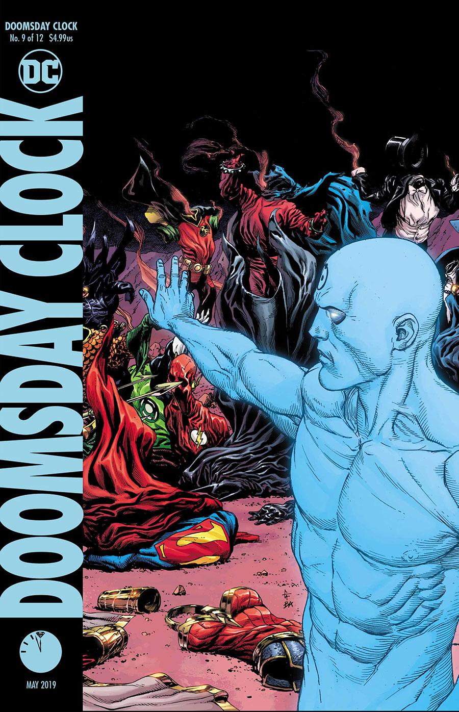Doomsday Clock 9 Variant - DC Comics News