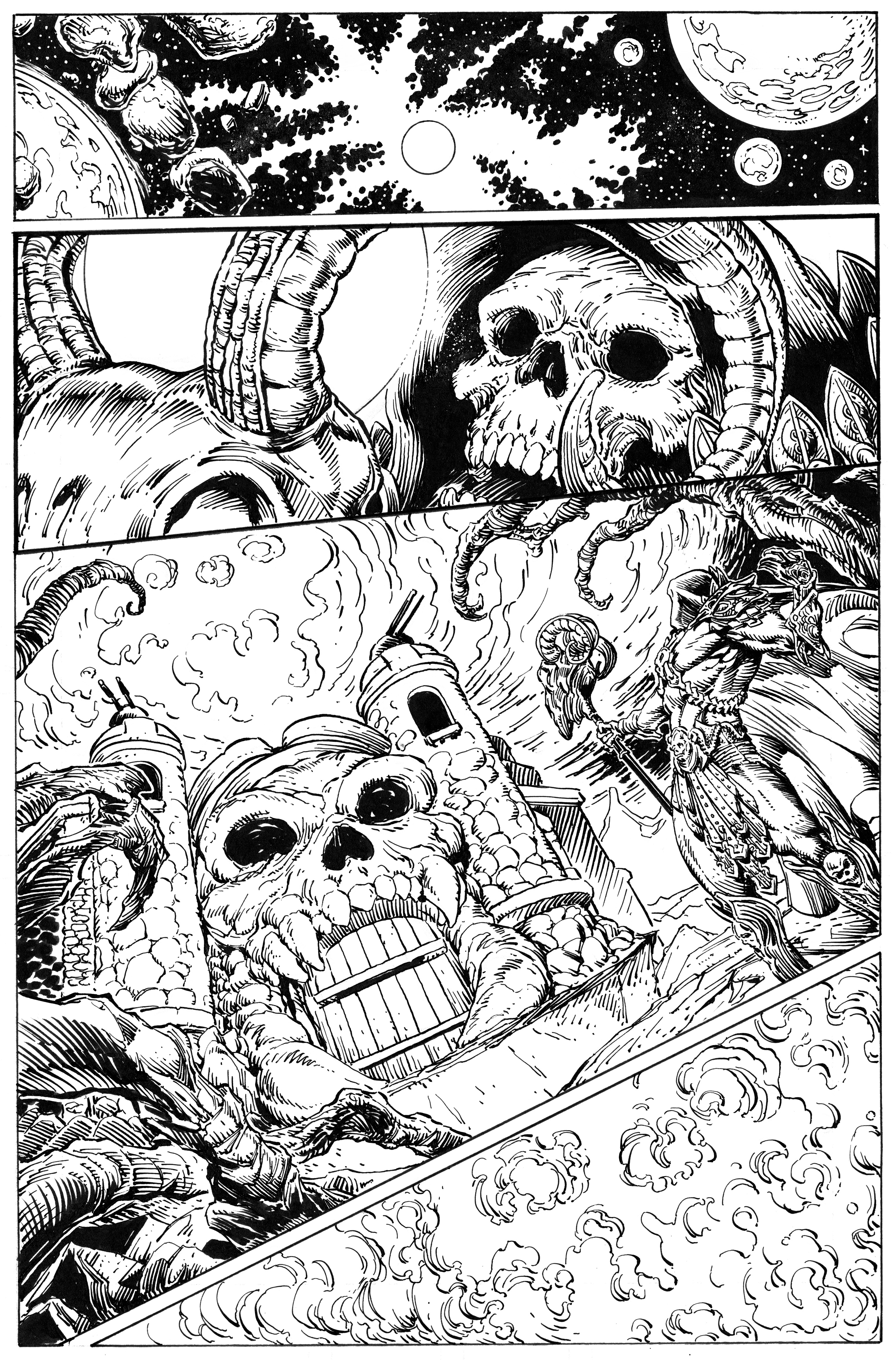 Artwork from Issue #1.
