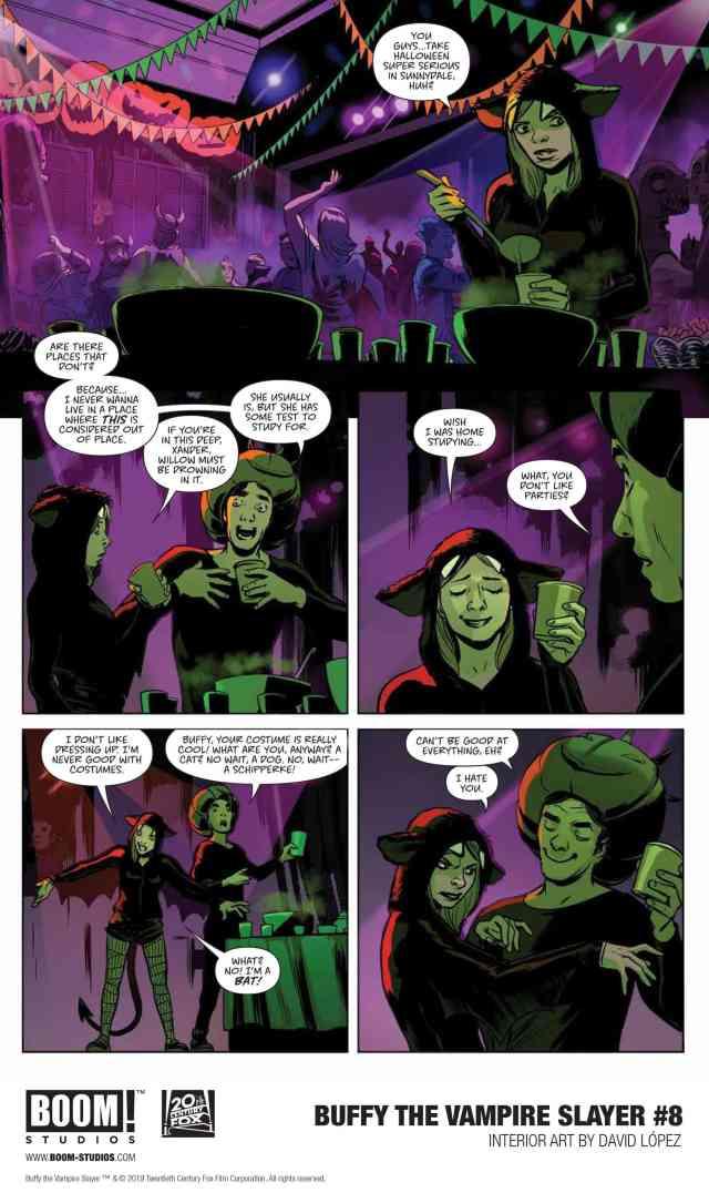 Buffy 8 page 1