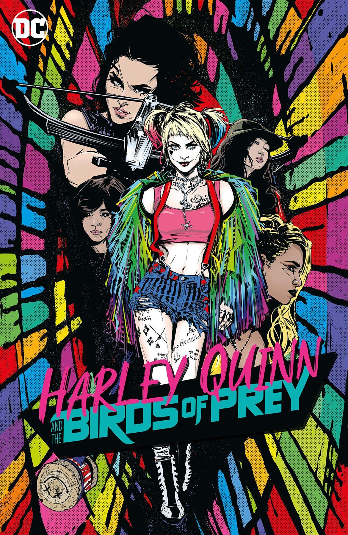 Harley Quinn Birds of Prey graphic novel