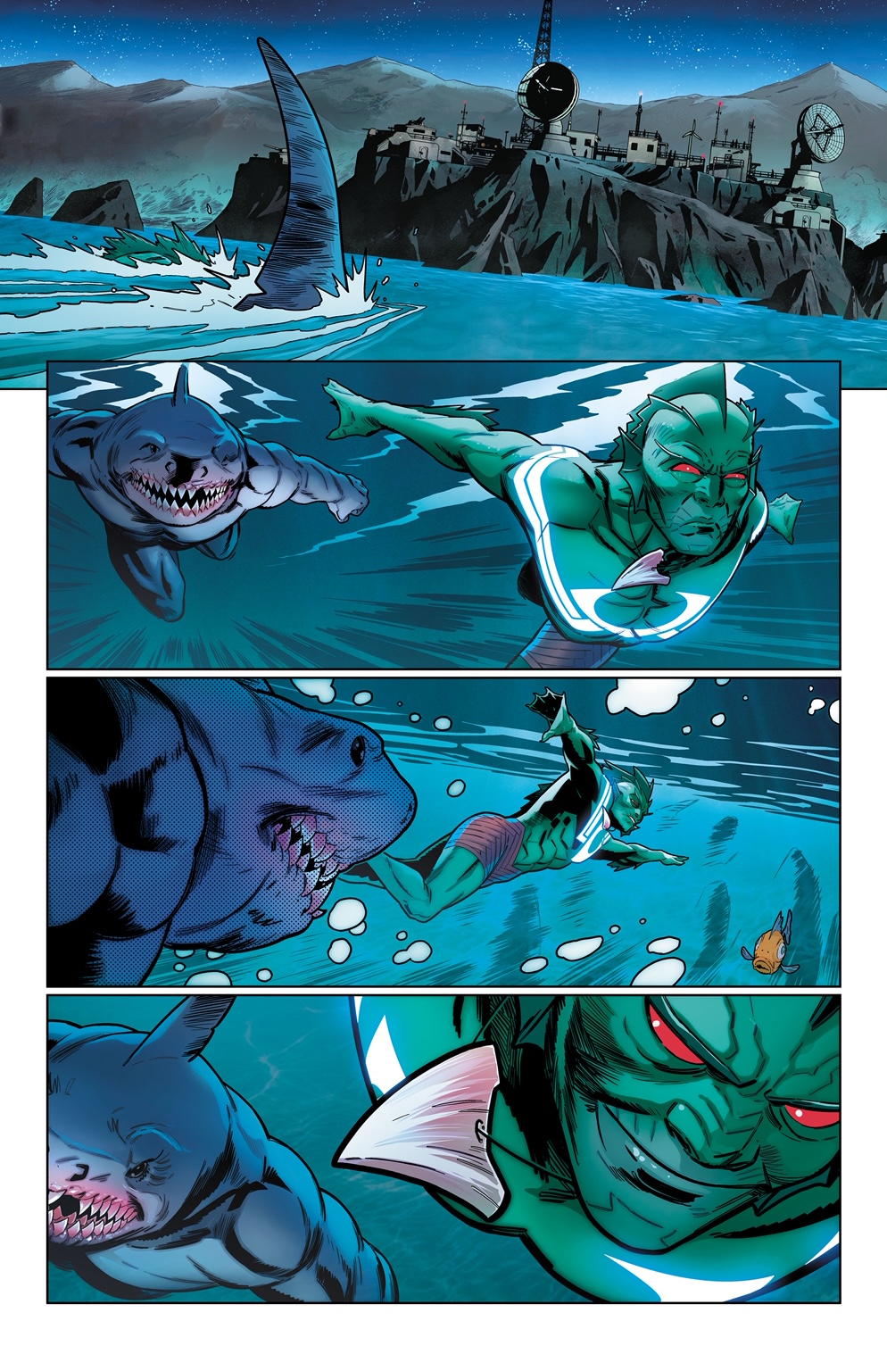 Suicide Squad #2 is written by Tom Tyler with art by Bruno Redondo