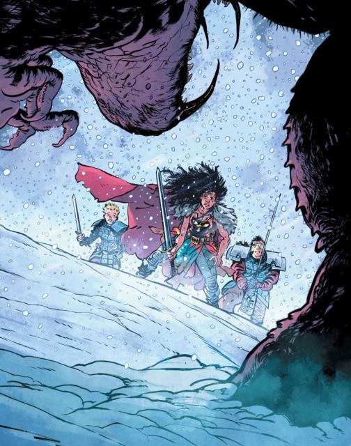 Wonder Woman: Dead Earth #2 Cover Art.
