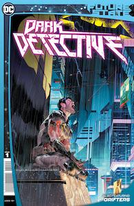 Review-Future-State-Dark-Detective-#1-Cover-Bruce-Wayne-wearing-tattered-Batman-suit-kneeling-in-pouring-rain-DC-Comics-News