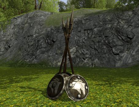 Lances dressées des Rohirrim