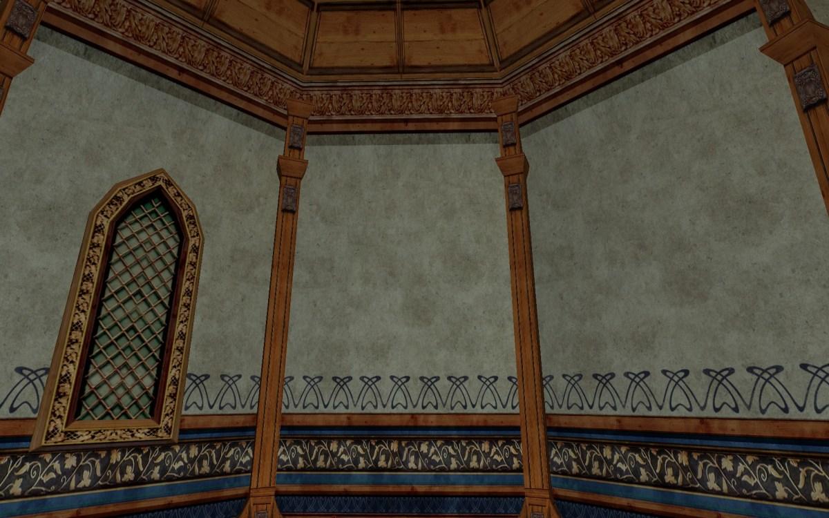 Mur en feuilles de plâtre