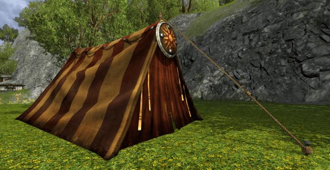Tente de la vallée de l'Entalluve