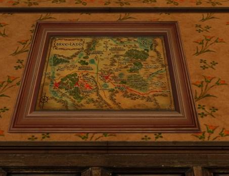 Petite carte de Bingo dans le pays de Bree