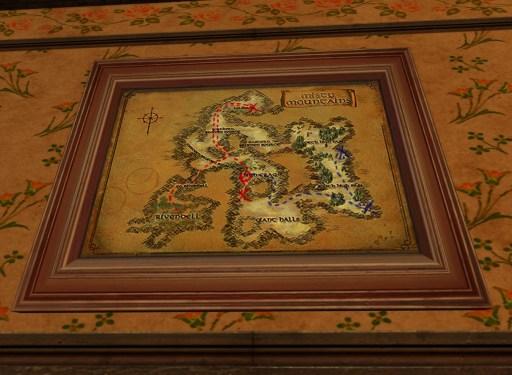 Petite carte de Bingo dans les Monts Brumeux