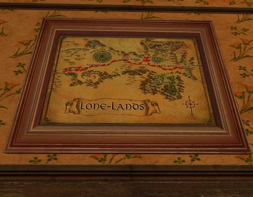 Petite carte de Bingo dans les Terres Solitaires