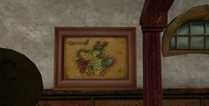 Carte d'Enedwaith