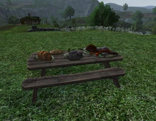 Petite Table de Banquet