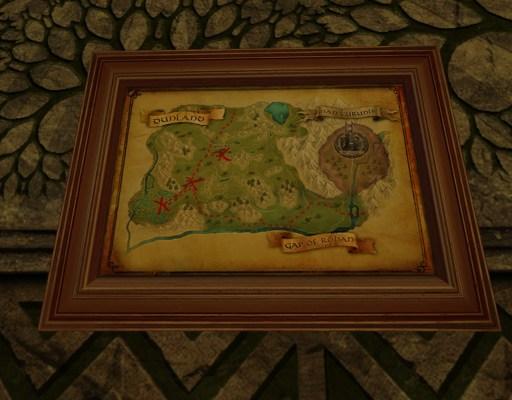 Petite carte de Bingo au Pays de Dun