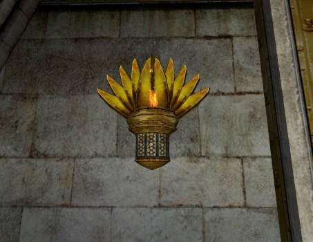 Lampe Murale Gondorienne