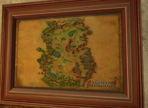Carte des Hauts des Galgals Sud