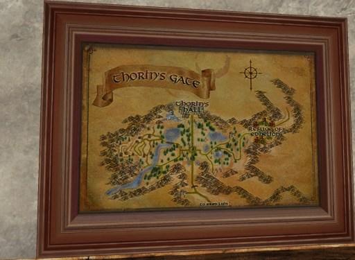 Carte du Palais de Thorin
